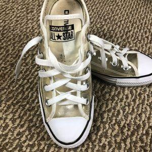 ec41cbdde4aa Converse Shoes - ✂️Clear Plastic Chuck Taylors